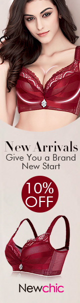 Newchic Fashion Bras Collection