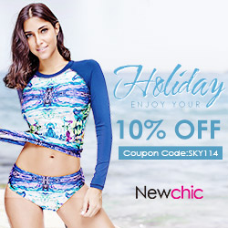 Newchic Fashion Collect Enjoy Your Holiday