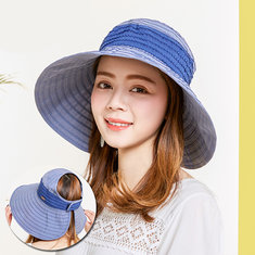 Frauen Faltbarer Anti-UV Cool Beach Hat