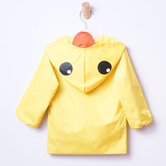 Cute Baby Boys Boys Toddler Yellow Duck Windbreaker Waterproof Raincoat Kids Outfit