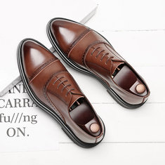 Men Classic Brogue Oxfords