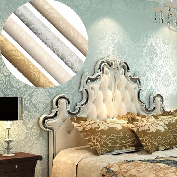 3D Wallpaper Bedroom Living Modern Wall Home Background Stripe Mural Roll