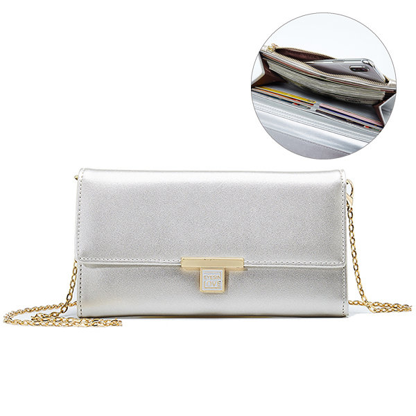 Hot-sale designer Women Multifunctional Faux Leather Chain Shoulder Bag  Crossbody Wallet Online - NewChic