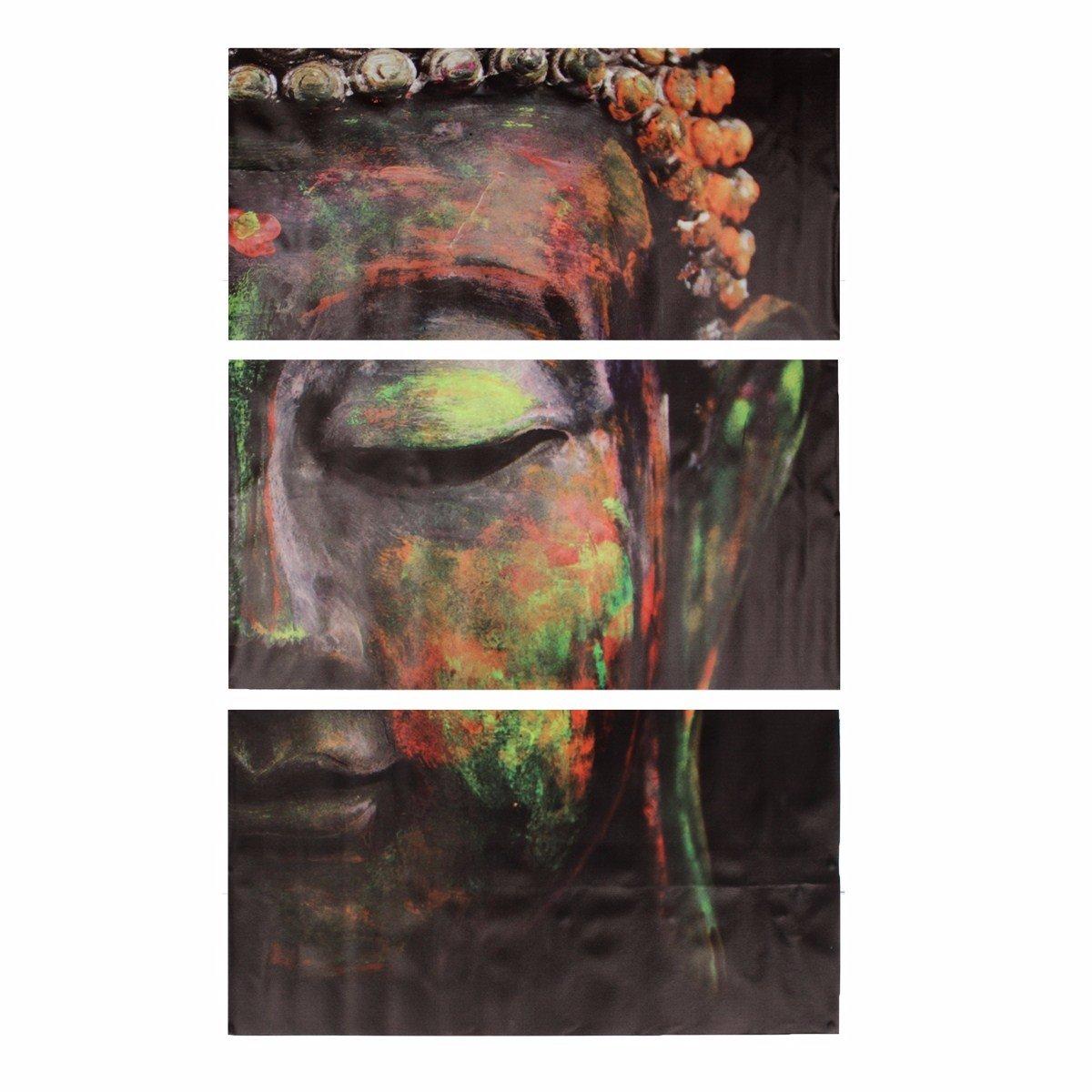 40x60cm Statues De Bouddha Peinture à Lhuile Décoration Murale En