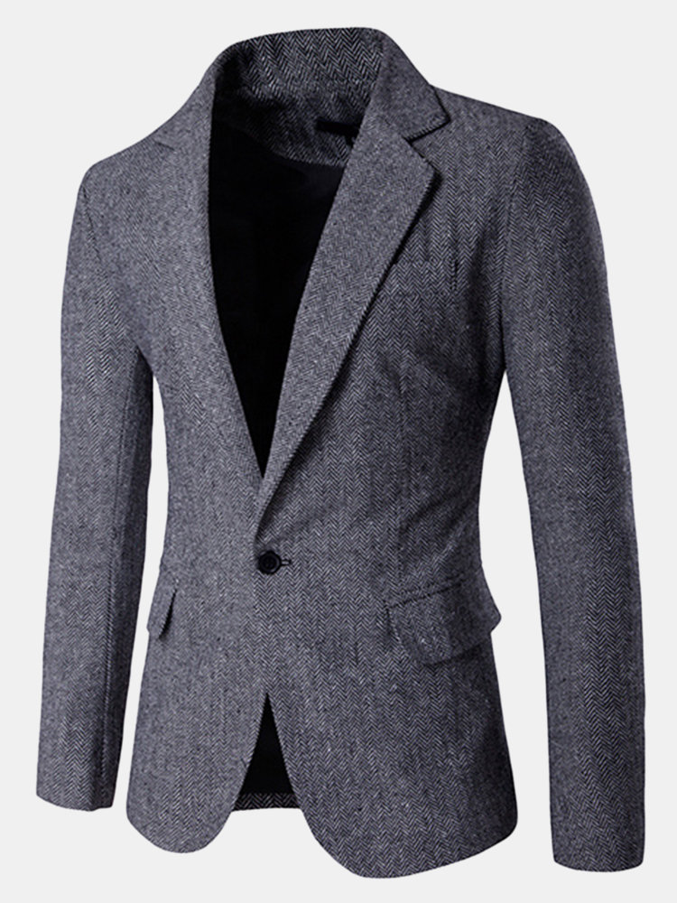 Formal Suit Korean Style Fashion Slim Simple Blazers for Men - NewChic f6d200919d25