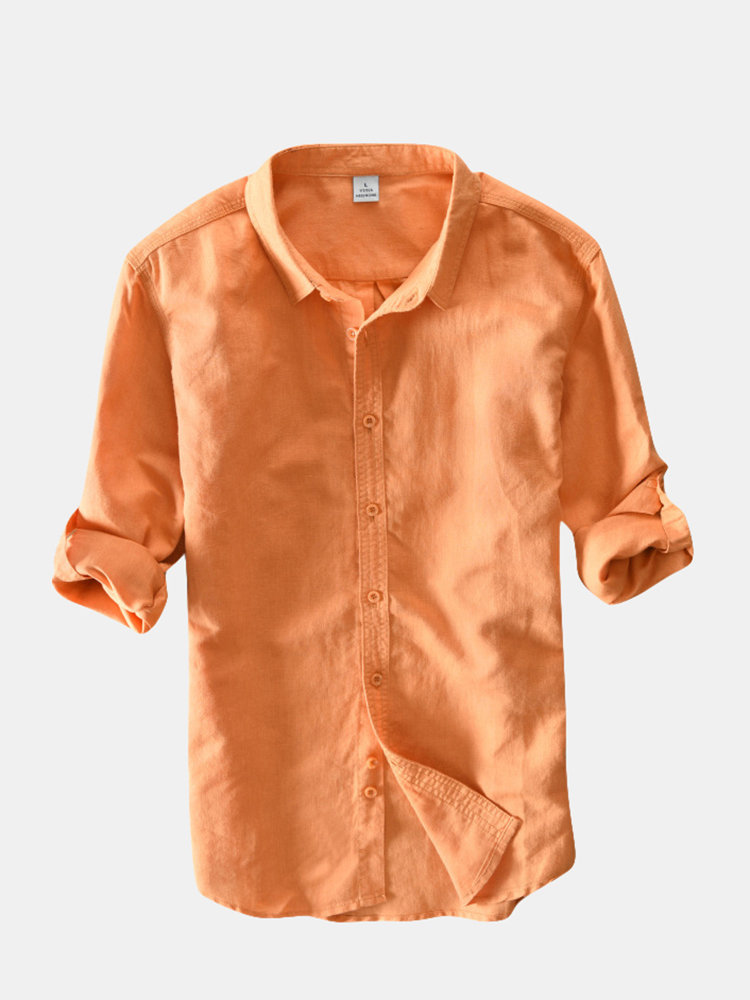 Breathable Comfy Casual Cotton Shirts