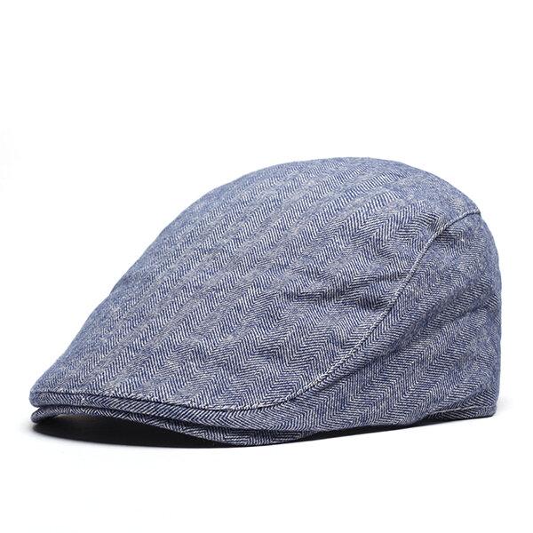 Chapéu Unissex Flexível Chapéu de Boina Para Primavera e Verão Outdoor Boina  Respirável Com Aba 3d1848ab3cd