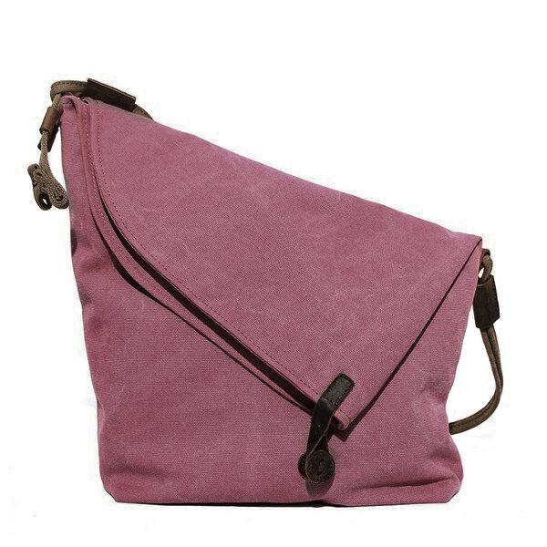Hot-sale designer Women Vintage Messenger Bag Genuine Leather Canvas ... 235bfef47af98