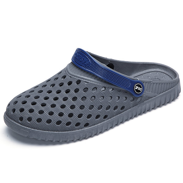 16c554d00cd High-quality Men Hollow Out Breathable Casual Slippers Flat Slip On Beach  Sandals - NewChic