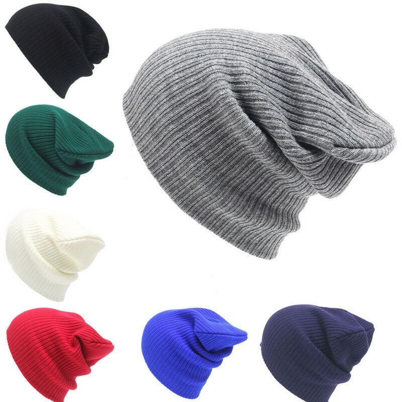 e412a6b85ff97 Winter Men Women Knitted Warm Skullies Beanies Hats Casual Sport Breathable  Elasticity Hat Cheap - NewChic