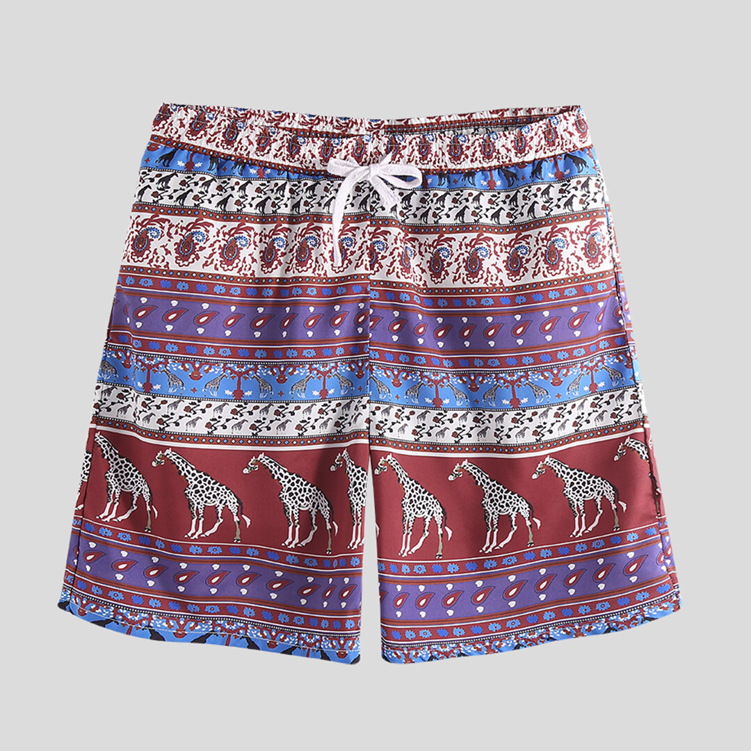 2019 Men Beach Shorts Brand Quick Drying Printing Fashion Short Pants Casual Clothing Shorts Shorts Men Plus Size M-3xl With A Long Standing Reputation Men's Clothing