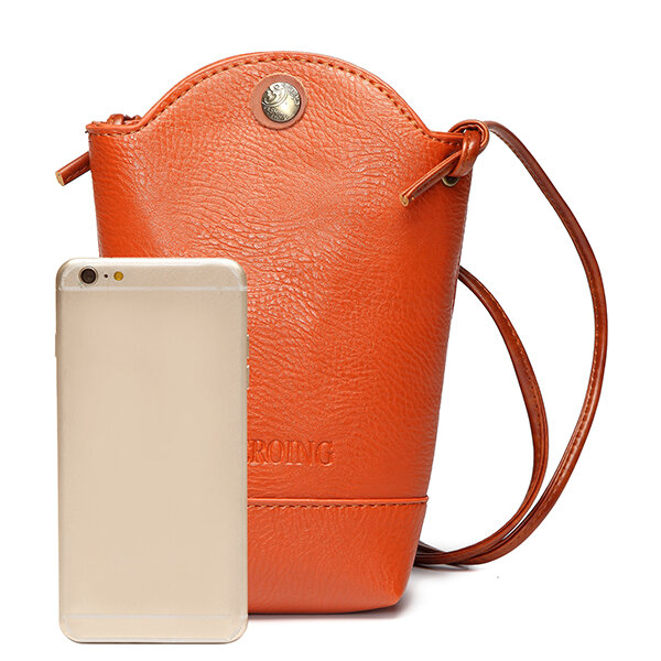 Hot Designer Woman Irregular Little Phone Bag Casual Pu Crossbody Bucket Online Newchic