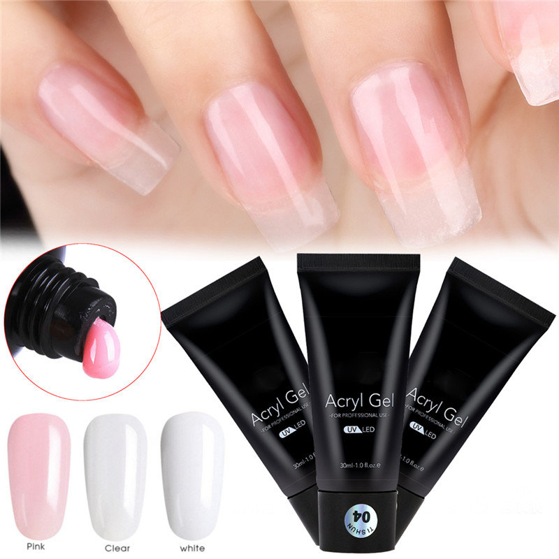 30ml Nail Extension Gel Finger Nails Quick Building Poly Manicure Tools Online Newchic