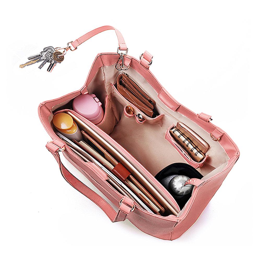 9d127ee9c17c Hot-sale designer Brenice QUEENIE Women Casual Handbag Solid ...