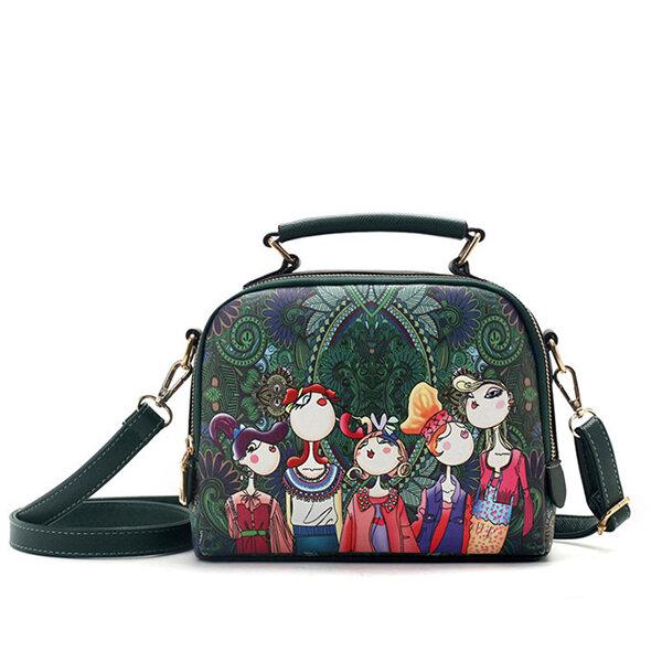 c95e96392aec Hot-sale designer Women Bohemian Forest Series Crossbody Bag Print Flower  Shoulder Bag Online - NewChic