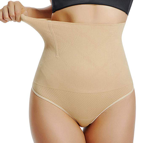 c66f4d02070 Stylish High Waisted Tummy Control Sexy Hollow Butt Thongs - NewChic