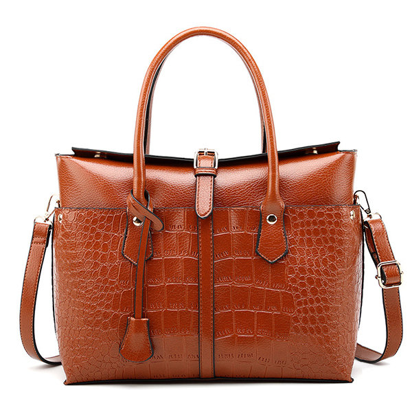 Hot-sale designer Crocodile Pattern Handbag Solid PU Leather Crossbody Bag  For Women Online - NewChic a4b39f261c52f