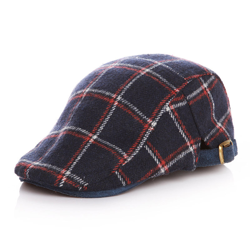 Plaid Pattern Kids Duckbill Ivy Cap For 1-11 Years - NewChic 28f051ce310