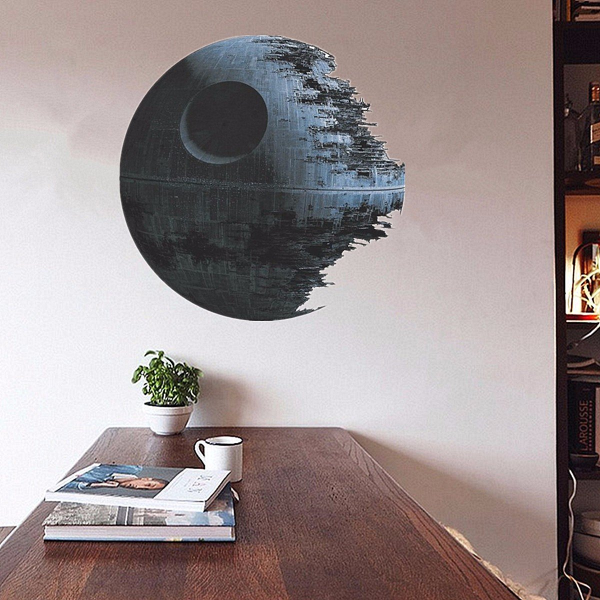 Removable Death Star Wars 3d Wall Stickers Art Vinyl Decal Kids