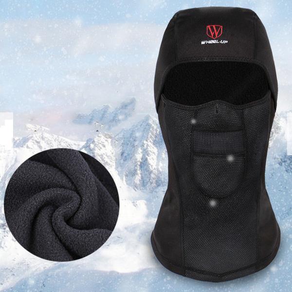 Mens Winter Warm Fleece Full Hood Face Mask Windproof Dustproof Head Cover  Neck Waterproof Hat Cheap - NewChic 8715a71804c