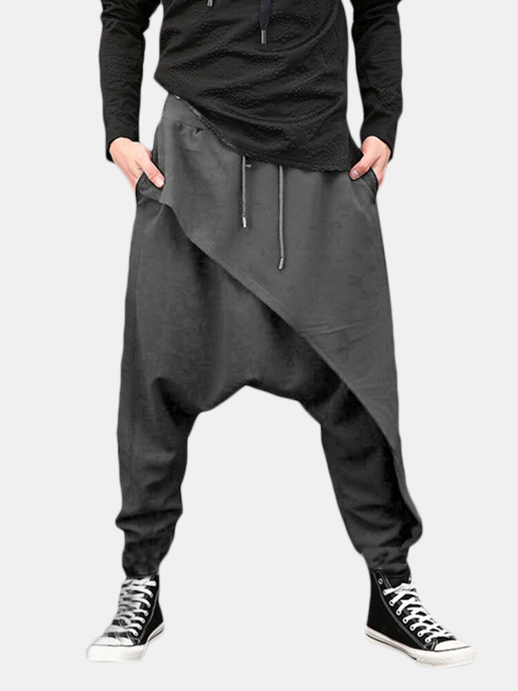 1fc5f7a785903a INCERUN Men Harem Pants Baggy Slacks Trousers Sportwear Casual Jogger Dance  Sweatpants is Durable-NewChic