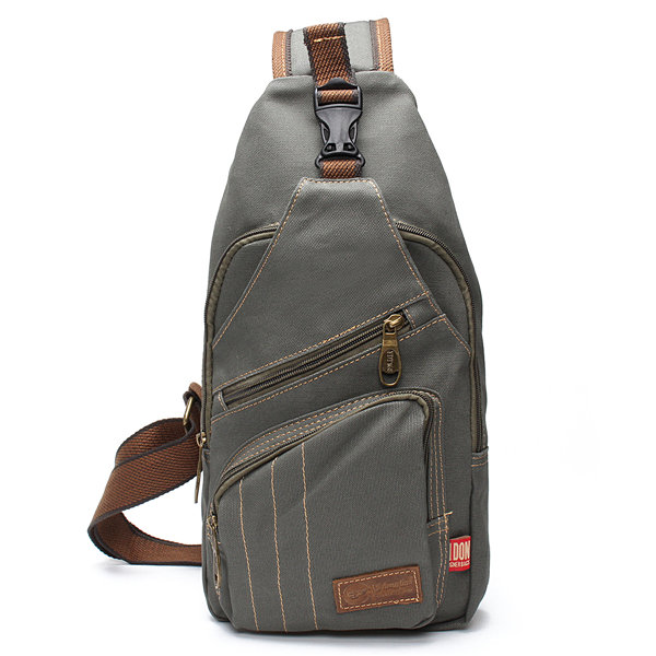 Men Canvas Travel Hiking Crossbody Bag Casual Chest Bag Sling Bag is worth  buying - NewChic a7317ed49
