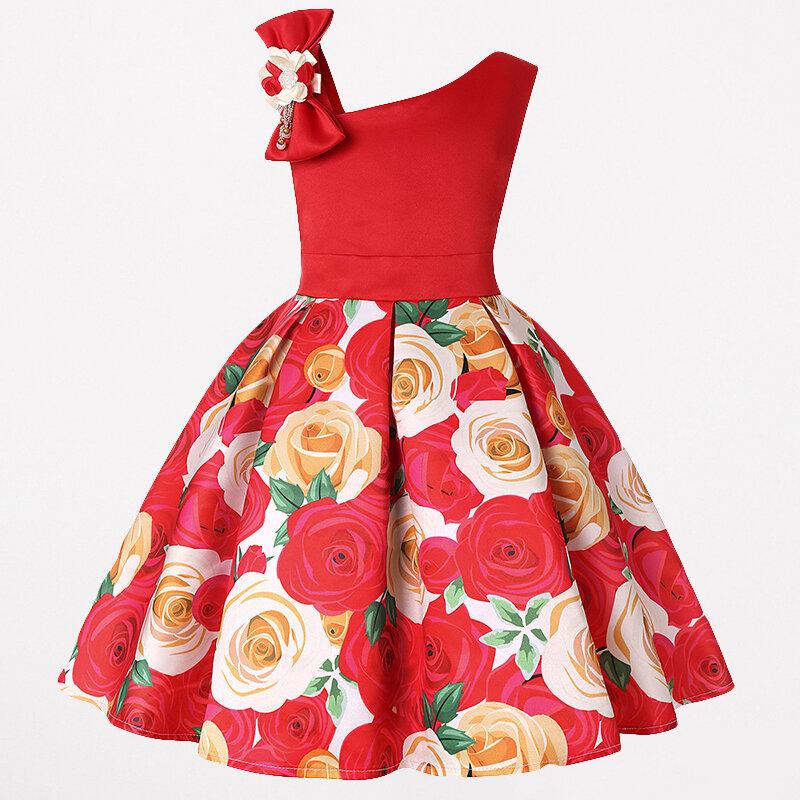 Toddler Christmas Dresses Girls Flower Fancy Dress For 3y 13y On