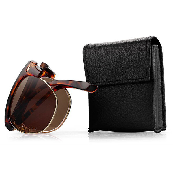 95dc96bfffc Women Men Vintage Presbyopic glasses Fold Metal Frame Sunglasses Reading  Glasses With Glasses Case Cool - NewChic