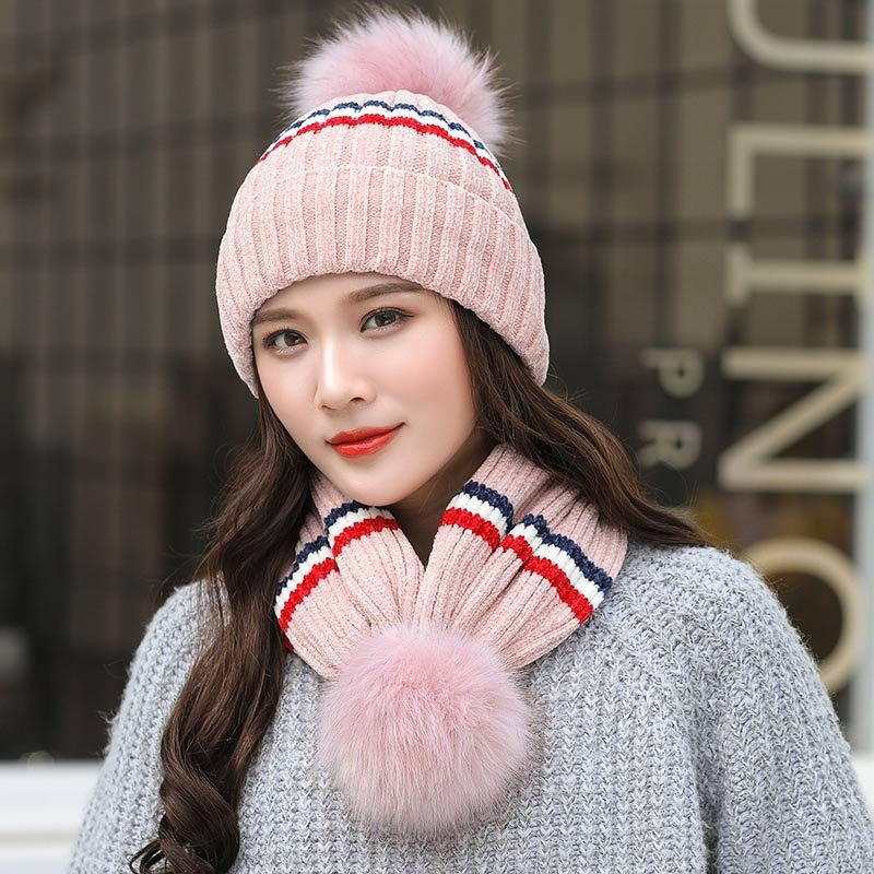 c9d31910d57 Women Winter Wool Warm Wild Vogue Beanie Hat Cycling Windproof Ear  Protaction Neck Warmer Hat Online Cheap - NewChic
