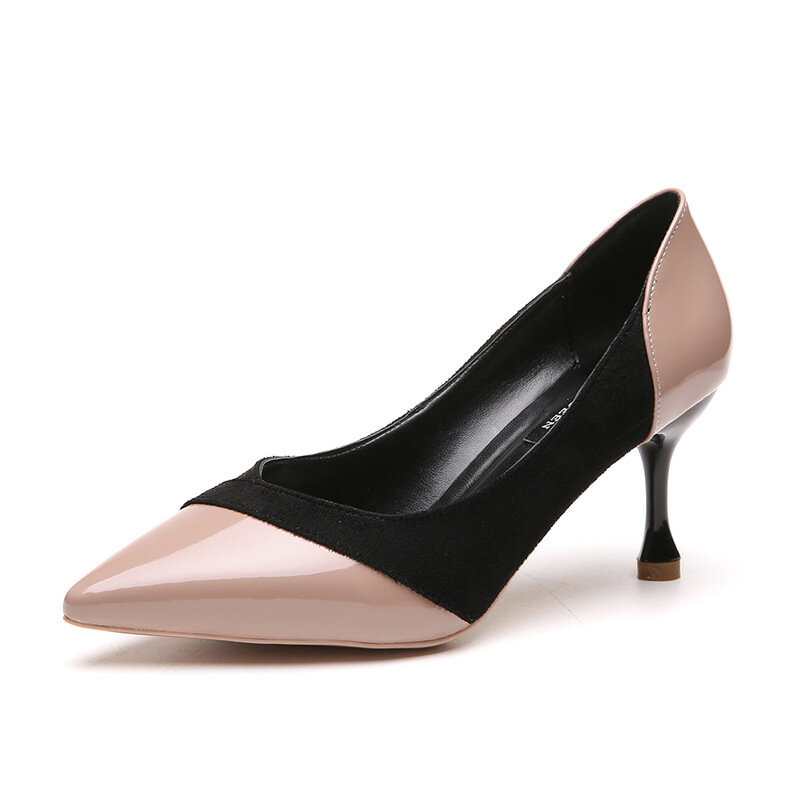 Knitten Heel Pointed Toe Pumps
