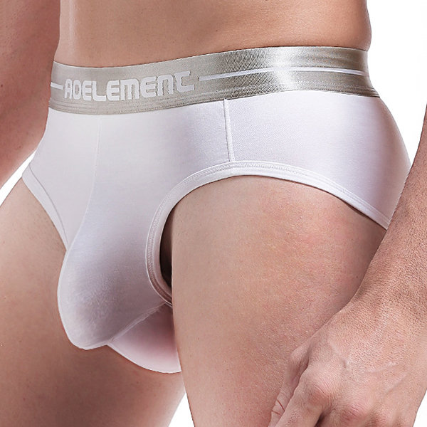 db171d524 Stylish Sexy U Convex Independent Pouch Breathable Modal Solid Color Brief  Underwear for Men - NewChic