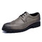 Large Size Men Brogue Carved Lace Up Business Casual Oxfords