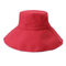 Women Summer Solid Foldable Sunscreen Bucket Hat Outdoor Casual Travel Beach Sea Hat