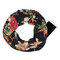 Women Winter Print Pocket Scarf Outdoor Casual Neck Warmer Convenient Carrying Items Scarf