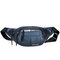 Men Outdoor Multi-function Crossbody Bag Solid Waist Bag