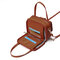 Women Square Card Holder Phone Bag Multi-layer Crossbody Bag
