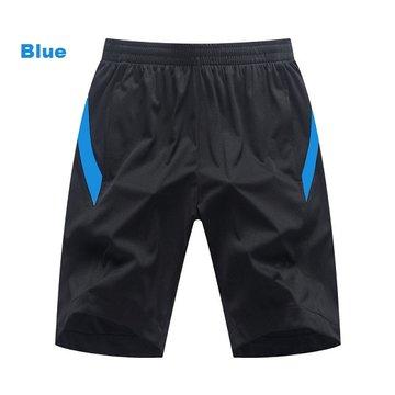 Été Hommes Longueur Au Genou Plus Taille Évacuant Sport Coton Respirant Lâche Running Basketball Court