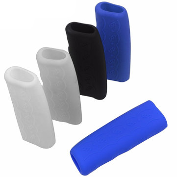 Car Anti-slip Handbrake Grips Cover, Grey dark blue black