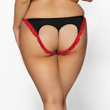 Plus Size Women Sexy Hollow Thongs