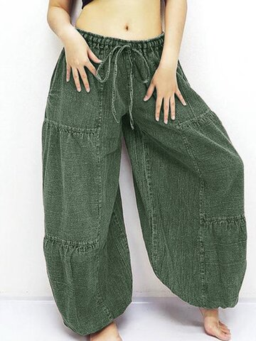 Wide Leg Yoga Harem Pants