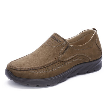 Men Large Size Breathable Non-slip Casual Cloth Shoes