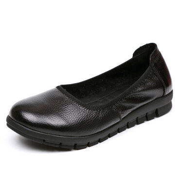 SOCOFY Soft Flat Casual Shoes