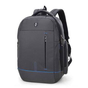 18 Inch Nylon Backpack With Headphone plug Casual Business Laptop Bag For Men