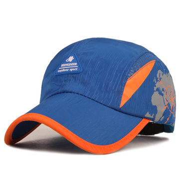 Breathable Quick-dry Baseball Cap, Red blue black grey army green royal blue orange fluorescence green