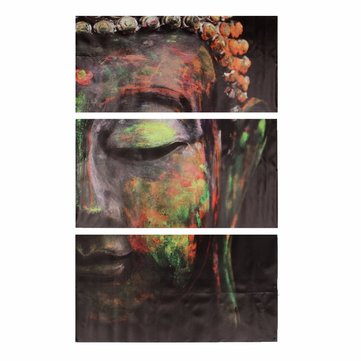 40x60cm Buddha Statues Oil Painting Unframed Abstract Art Canvas Wall Decor