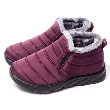 LOSTISY Waterproof Casual Winter Snow Boots