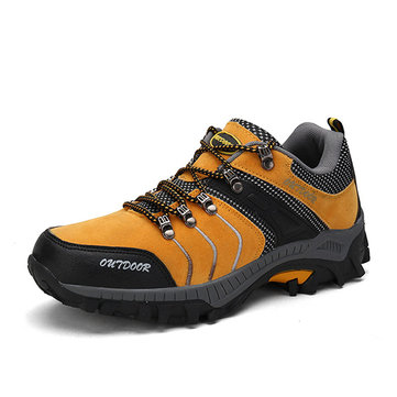 Men's Anti-collision Toe Wearable Outdoor Hiking Shoes