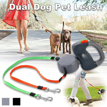 Dual Dog Pet Zero Zero Tangle Walk Two Dog