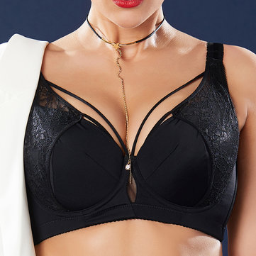 Plus Size J Cup Sexy Harness Bra
