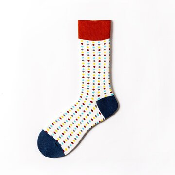 Herren Baumwolle Colorful Warme Socken